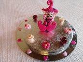 Decorazione x torta di battesimo o comunione