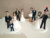 Wedding cake topper personalizzati