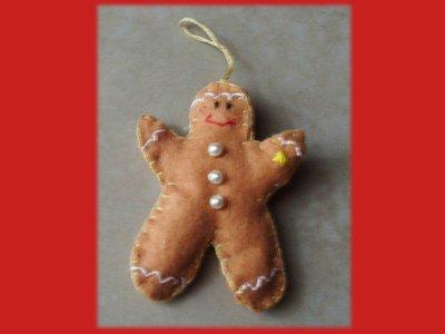 Gingerbread man- Omino pan di zenzero