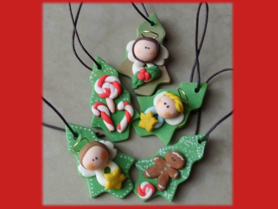 Decorazioni natalizie Alberelli
