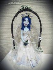 Cake topper sposa cadavere