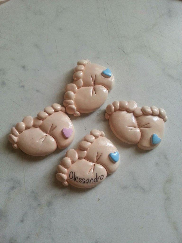 Gessetto piedini baby