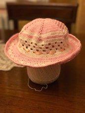 Cappellino bimba 100% cotone