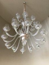 Finale, ricambio per lampadari, in vetro soffiato di Murano