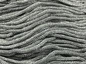Cordino Swan grigio glitter argento