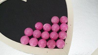 Perline tonde quarzo rosa
