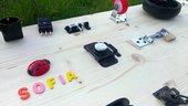 Montessori Pannello gioco in legno. Pannello gioco per bambini. Pannello delle chiusure. Pannello multi attività