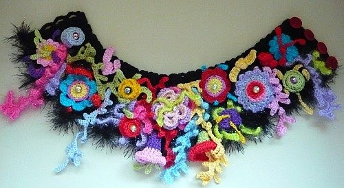 Neck-scarf Colorful Nigh