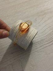 bracciale wire dorato