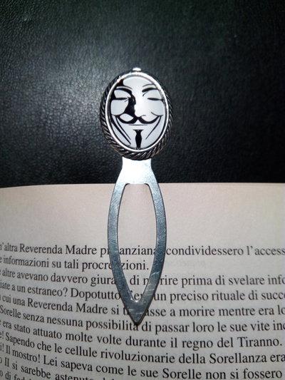 *Segnalibro di V For Vendetta - V For Vendetta bookmark*
