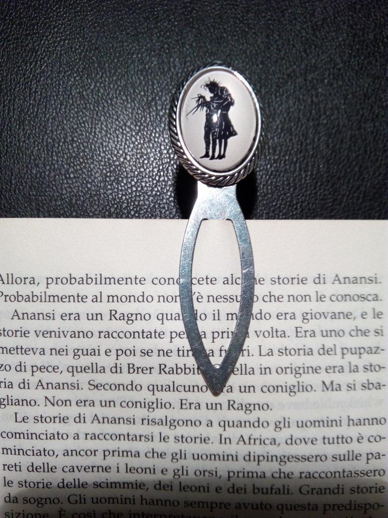 *Segnalibro di Edward Mani di Forbice - Edward Scissorhands bookmark*