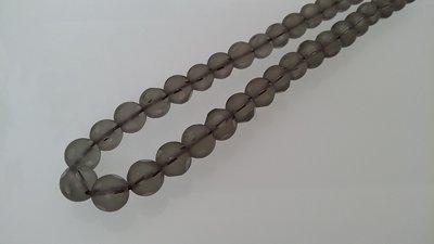 Filo di perle di cristallo opaco sfaccettato