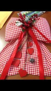 Fiocco Fuori porta natalizio