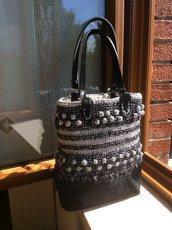 Borsa uncinetto fatta a mano - handmade crochet bag