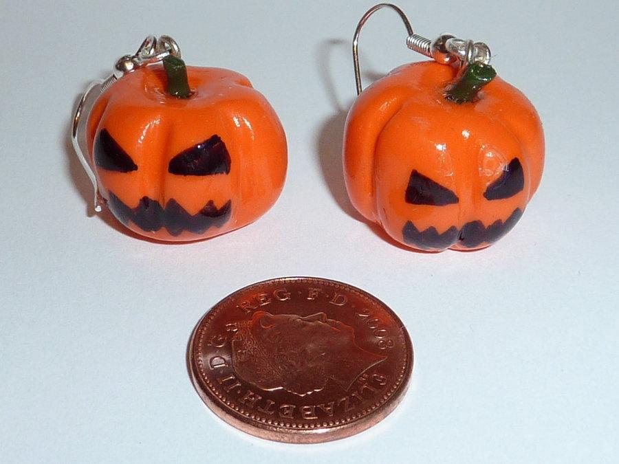 Orecchini in fimo halloween