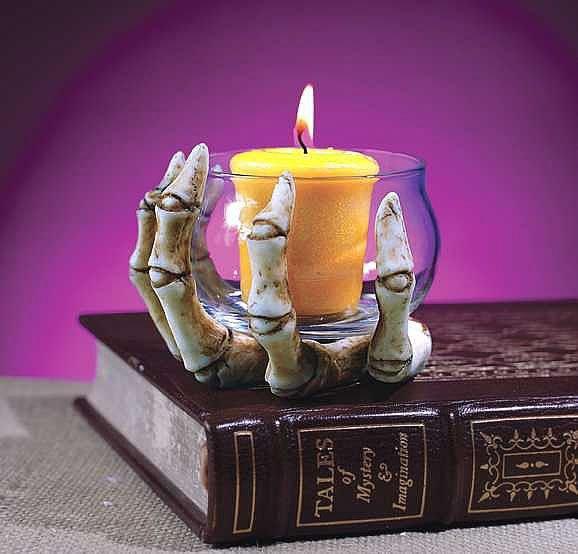 Porta candele di Halloween