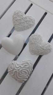 Cuori in ceramica