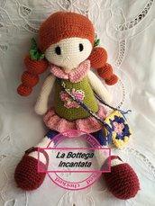 Bambola amigurumi in Lana