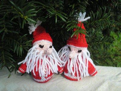 Babbo Natale pupazzetto ad uncinetto