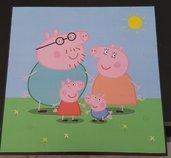 quadretto Peppa Pig una giornata di sole
