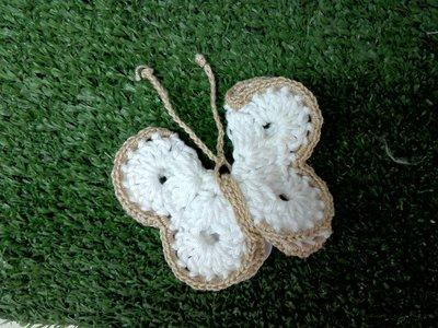 farfalla tecnica uncinetto