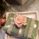 Sapone naturale di Provenza con Rosa, saponi bio, saponi provenzali