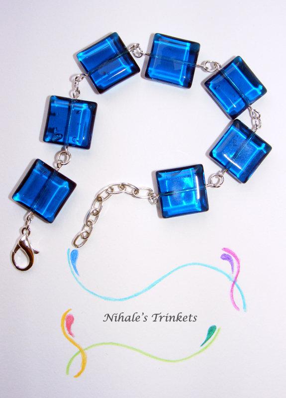 """Collezione """"BLUE SQUARE"""" - Bracciale"""