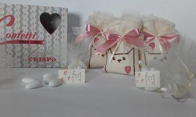 Bomboniere Matrimonio, Sacchetti Porta Confetti vari eventi