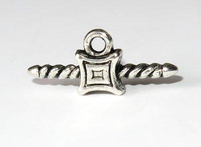 3 Chiusure per collane e braccialetti rubber    FER 48