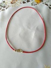 1  cordino colore rosso