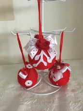 Set decorazioni Natale palline Chic