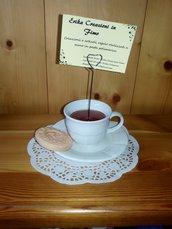 Portafoto Tazza di tè e Tarallucci