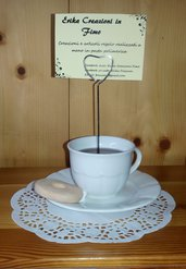 Portafoto Tazza di tè e Macine
