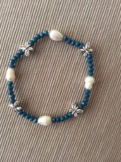 Braccialetto con perle irregolari