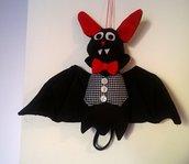 Pipistrello pupazzo Halloween