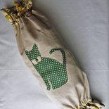 Portasacchetti a caramella decorato