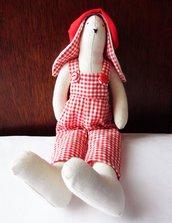 Coniglietto Tilda rosso