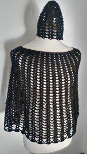 poncio nero moda