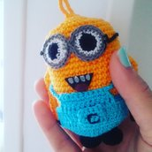 Minion all'uncinetto handmade con amore!