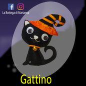 Gattino nero per Halloween