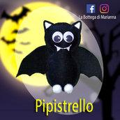 Pipistrello nero per Halloween