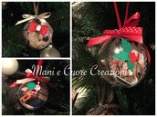 Palline albero di Natale - sfere Plexiglass  varie misure