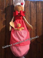 Ginger cuoca porta sacchetti