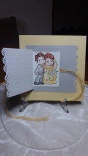 Card Felice Matrimonio