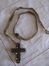Collana Croce di Bronzo
