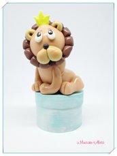 Piccolo leone in pasta di mais