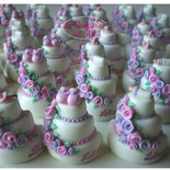 Calamite - Minicake. Bomboniere Battesimo