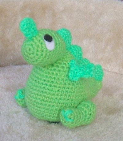 Baby Dragosauro pdf Amigurumi pattern