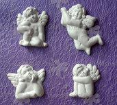 Gessetti profumati angeli segnaposto, chiudipacco bomboniera