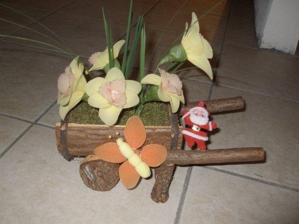 Carretto fiori